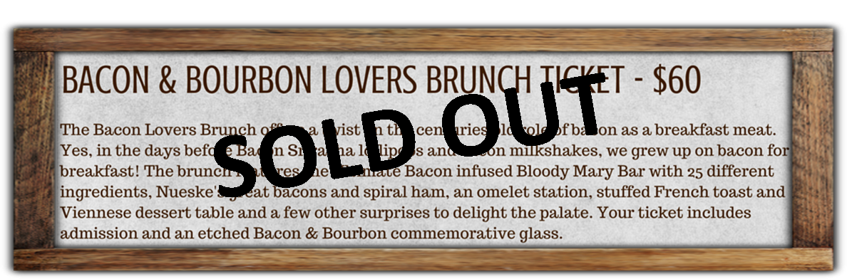 BRUNCH TICKET COPY gray frame SOLD OUT