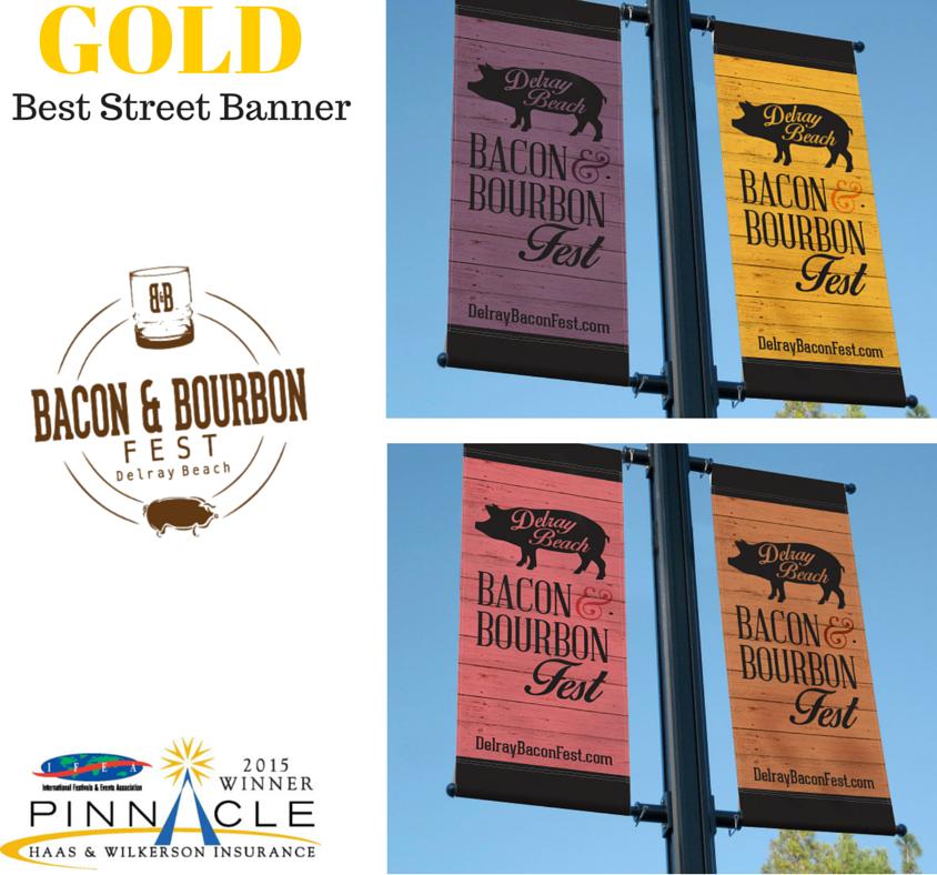 Gold - Best Street Banner - B&B