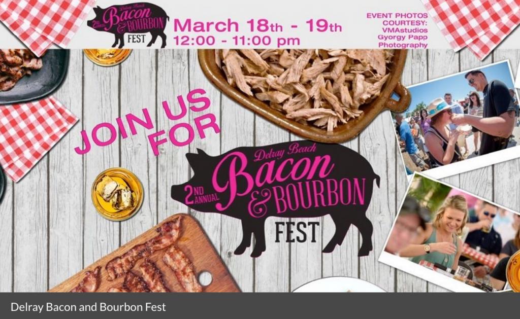 Bacon & Bourbon Fest Delray Beach